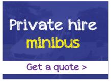 Private minibus hire